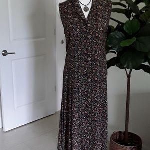 Christopher & Banks long sleeveless dress